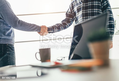 istock Business partnership meeting 641662168