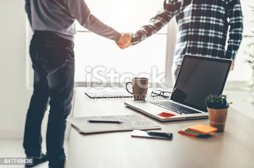istock Business partnership meeting 641749436