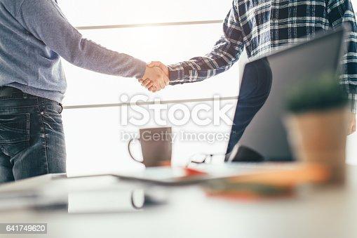 istock Business partnership meeting 641749620