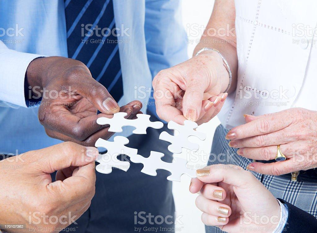 Business Partnership royalty-free stock photo