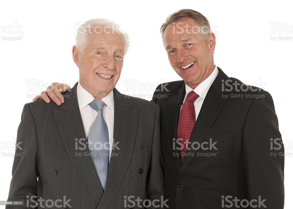 Business partnership stock photo