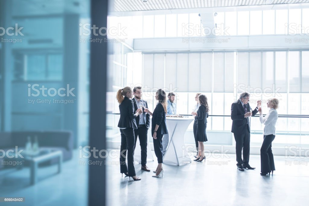 Business party stock photo