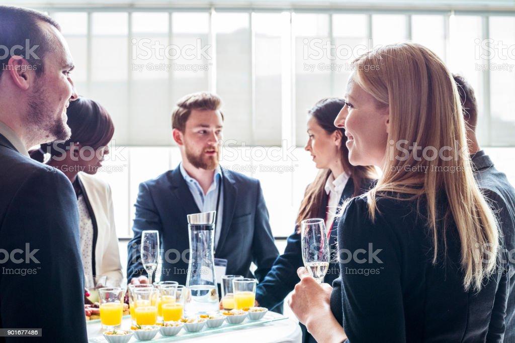 Fiesta de negocios - foto de stock