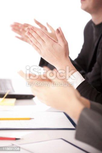 1031822210 istock photo business people applauding 115691208