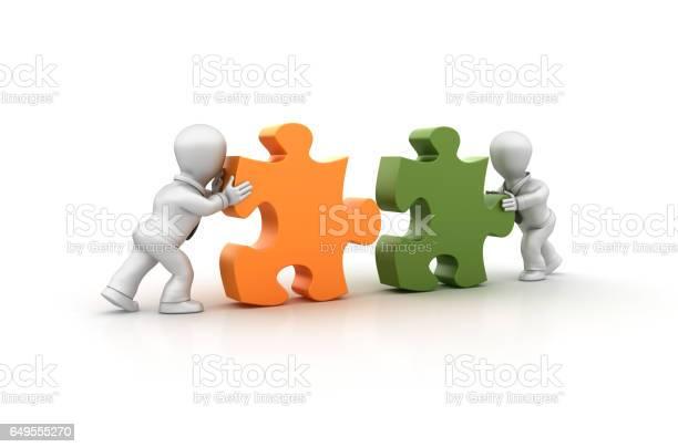 Business people assembling jigsaw pieces 3d rendering picture id649555270?b=1&k=6&m=649555270&s=612x612&h=aadspcngckl8gt2xnrknlas4ezddvo7p3byla3vb 2q=