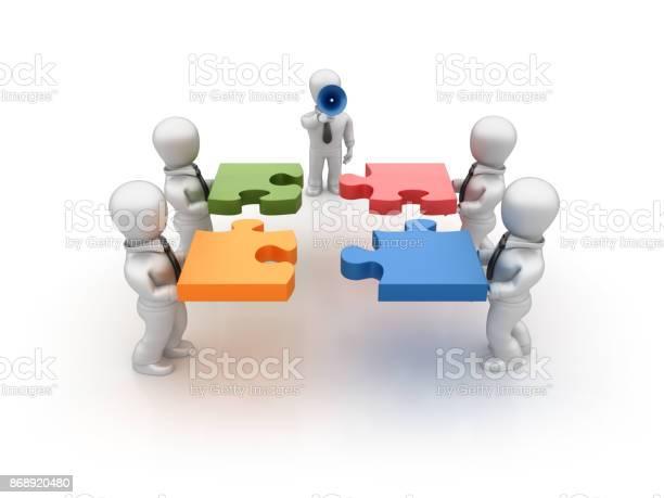 Business people assembling jigsaw pieces 3d rendering picture id868920480?b=1&k=6&m=868920480&s=612x612&h=tkabtjaazdsqtfdridxmxxqbgqbs4bim0av1hmsbgxm=