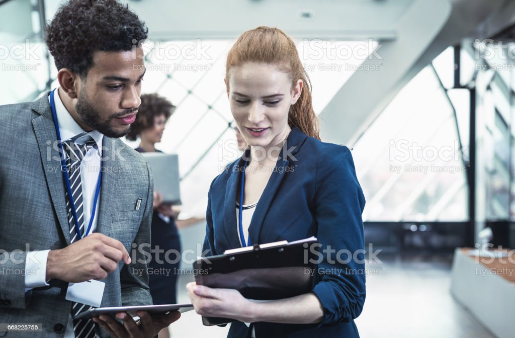 Business People at a Conference Event – Foto