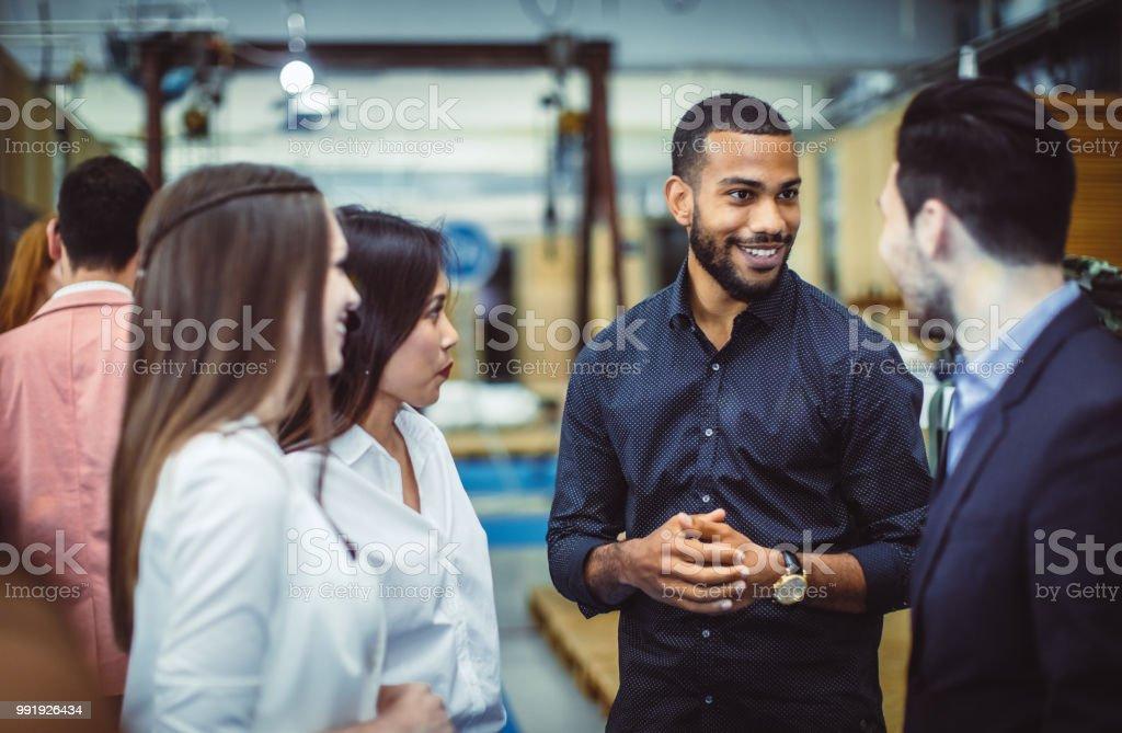 Geschäftsleute auf einer Tagung der Konferenz – Foto