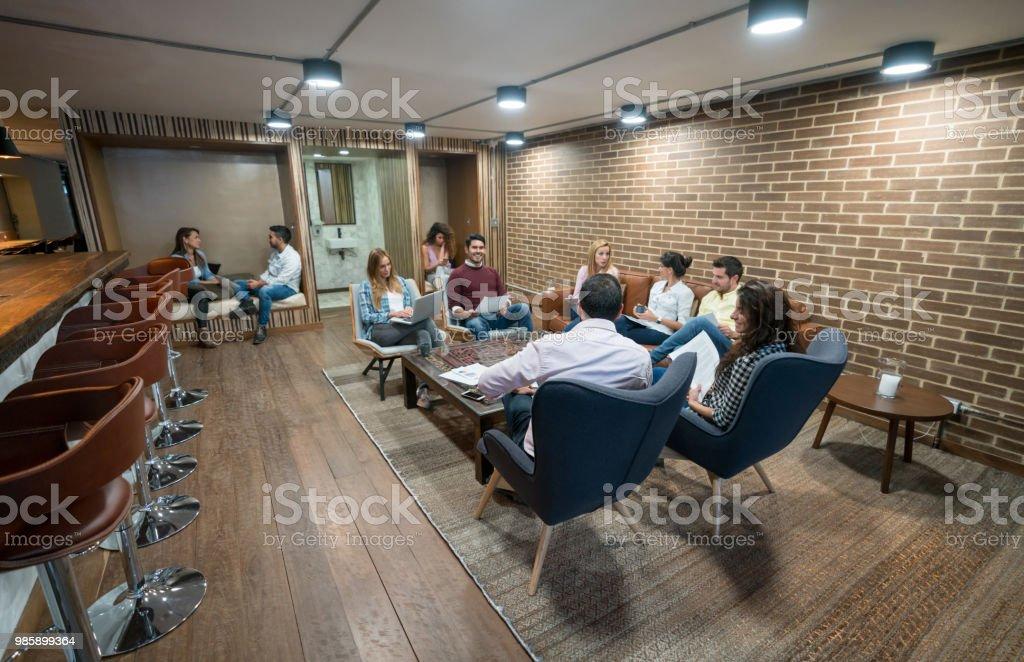 Successful Business ein Coworking-space – Foto
