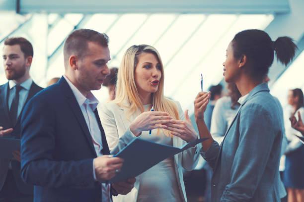 Pour les gens d'affaires, Conférence, pause café - Photo