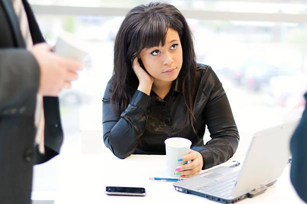 Ludzie biznesu w pracy – zdjęcie