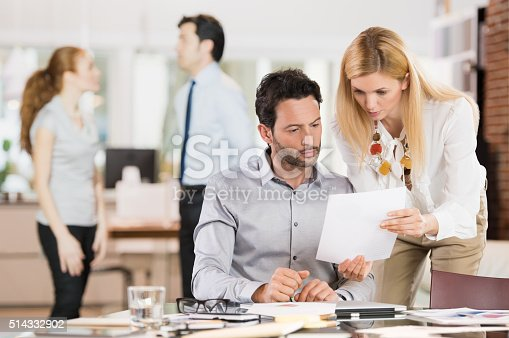 istock Business people at work 514332902