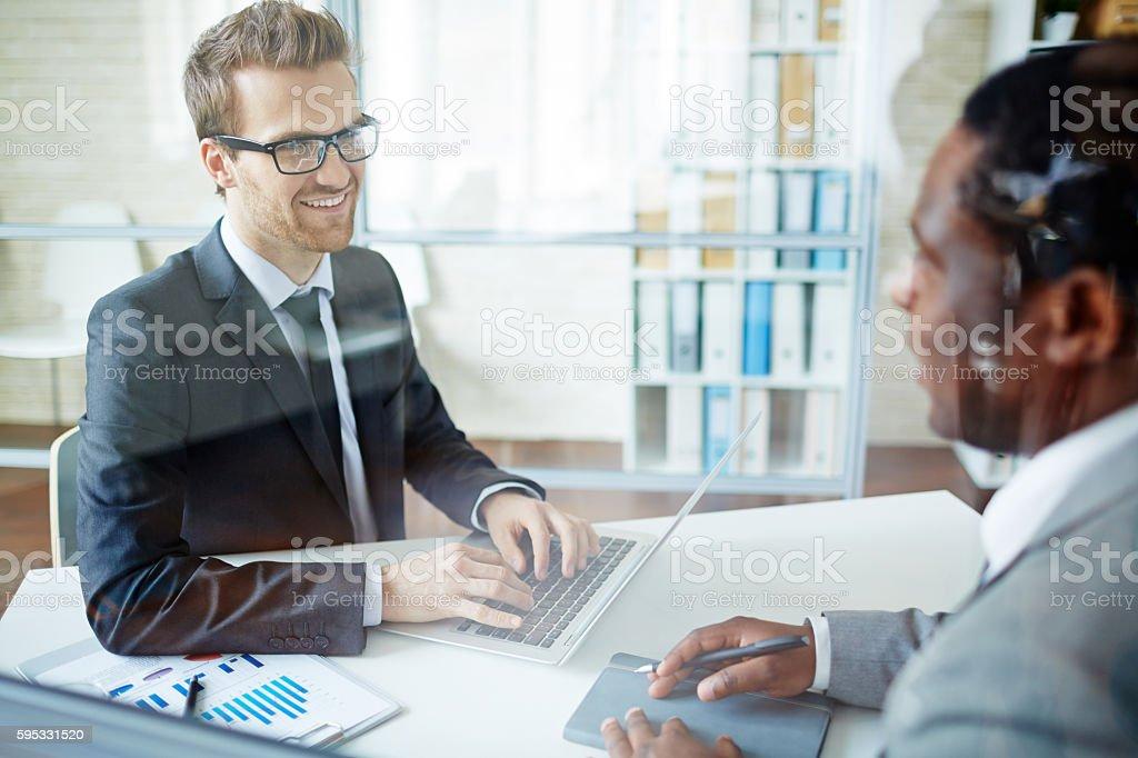 Business Personen am Arbeitsplatz  Lizenzfreies stock-foto