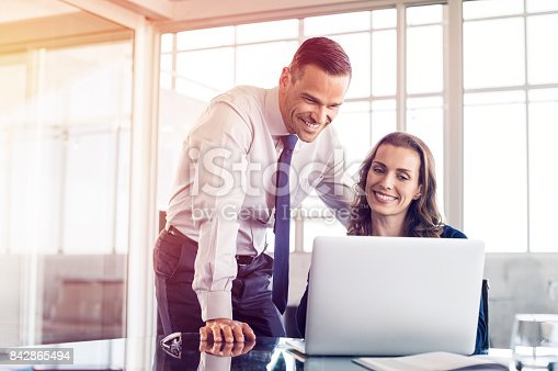 istock Business people at work 842865494