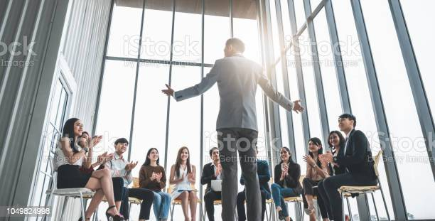 Business people clapping hands during meeting in office for their in picture id1049824998?b=1&k=6&m=1049824998&s=612x612&h=esi  atuyvkjpmjvvcvns5o78kbr34mj0czcxr5p4zo=