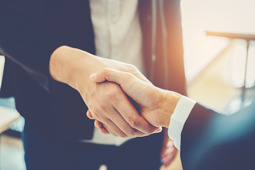 656005826 istock photo Business people colleagues shaking hands meeting Planning Strategy Analysis Concept 1029147082