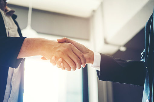 656005826 istock photo Business people colleagues shaking hands meeting Planning Strategy Analysis Concept 998227056