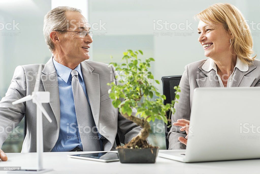 Business people communicating. royalty-free stock photo