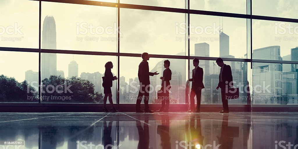 Business People Communication Office City Concept stock photo