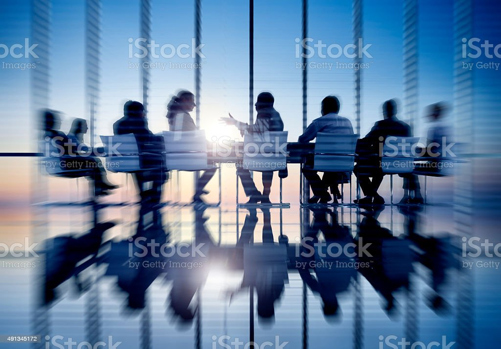 Business People Communication Office Meeting Room Concept stock photo