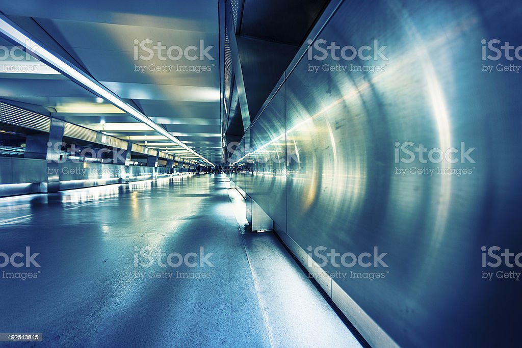 Business people commuting  of hong kong stock photo