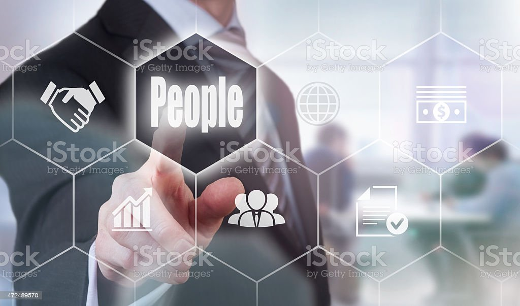Business People Concept stock photo