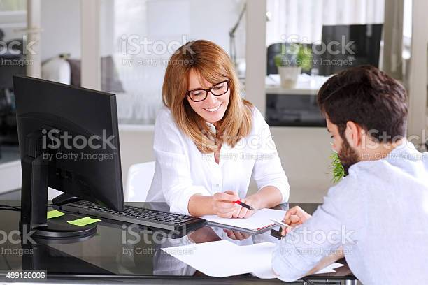 Business People Consulting Stockfoto und mehr Bilder von 2015