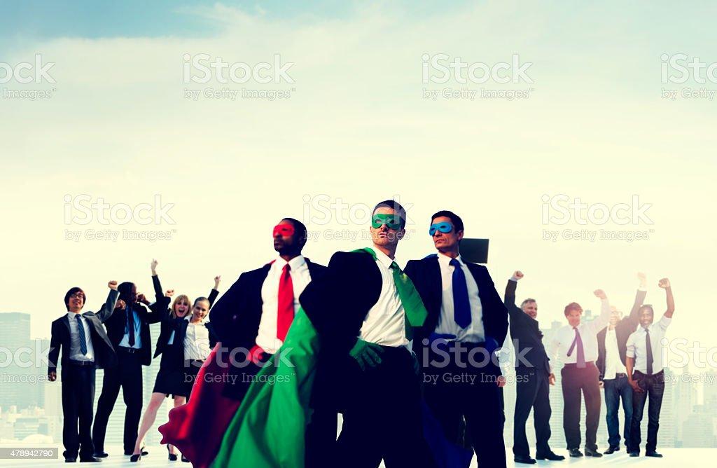 Business People Corporate Celebration Success Concept stock photo