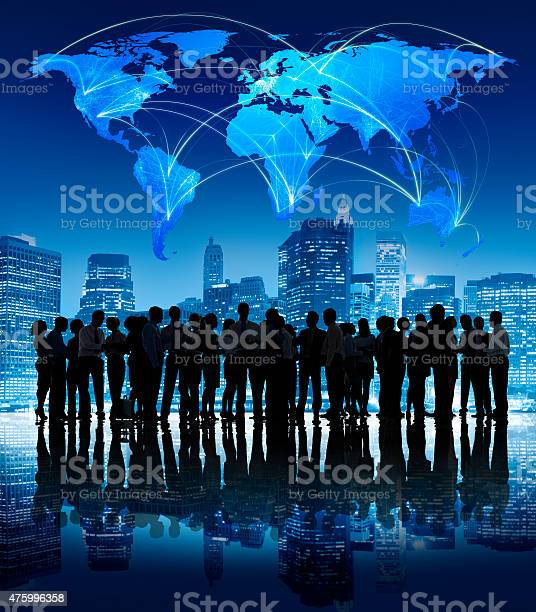 Business People Corporate Outdoors Concept Stock Photo - Download Image Now