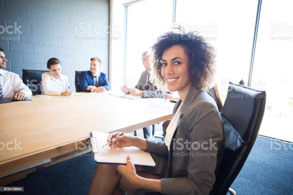 Gens d'affaires discuter de conférence et de réunion photo libre de droits