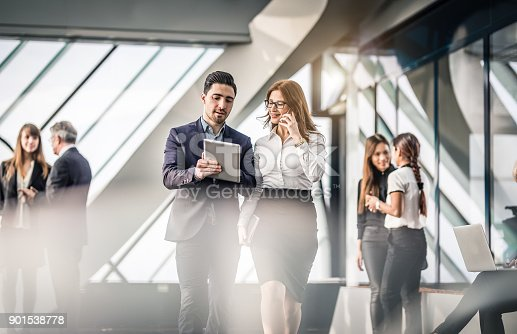 istock Business People Discussing in The Office 901538778