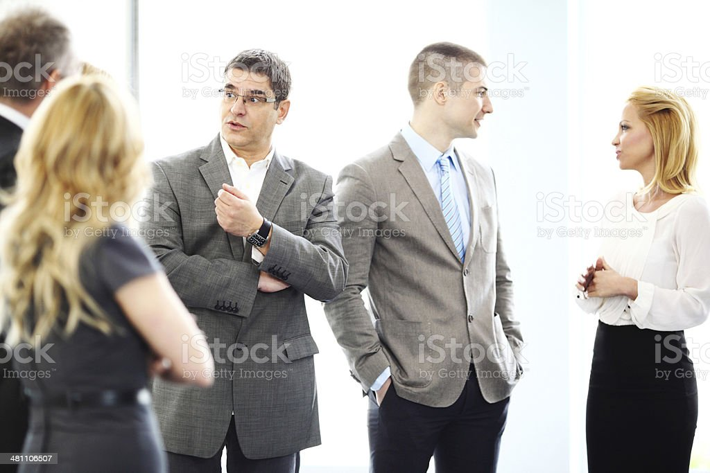 Business people discussing. royalty-free stock photo