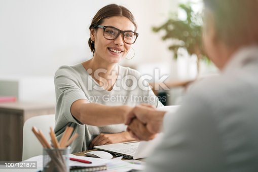 istock Business people discussion advisor concept 1007121872