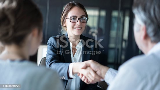 istock Business people discussion advisor concept 1160135279