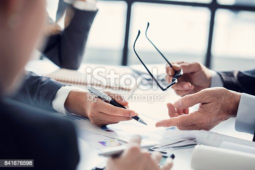 istock Business people discussion advisor working concept 841676598