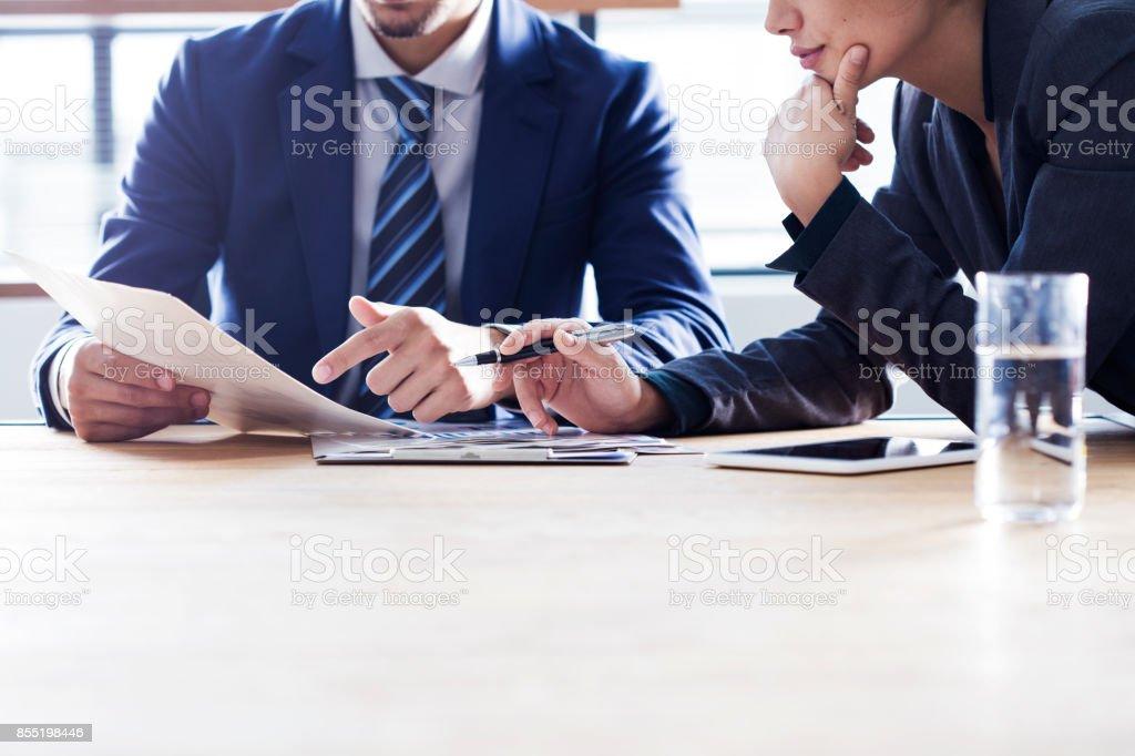 İş insanlar tartışma çalışma kavramı - Royalty-free Adamlar Stok görsel