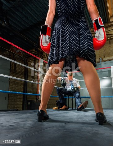 464164875 istock photo Business people fight, Conflict Between Couple 475537108