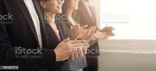 Business people hands applauding at meeting picture id1031822210?b=1&k=6&m=1031822210&s=612x612&h=ccvs eahfvw9xydxsq qyphfv4p4vumzatvkk03twm8=
