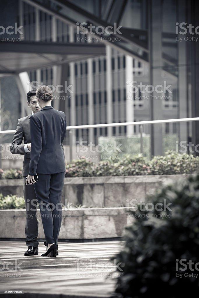 business people handshake stock photo