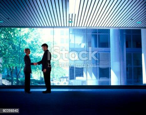 623122018 istock photo Business people handshake 92259340