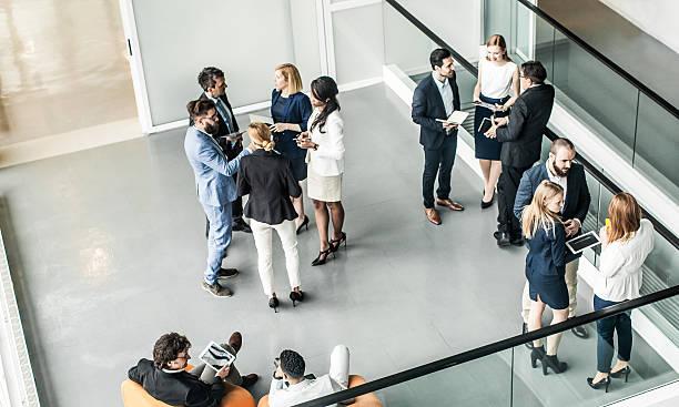 Gens d'affaires ayant une réunion - Photo