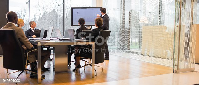 istock Business people having business meeting 942604000
