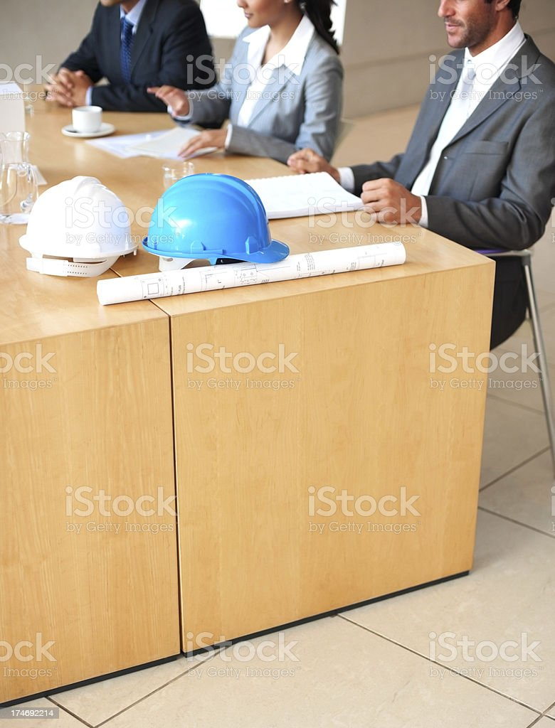 Business people having discussion royalty-free stock photo