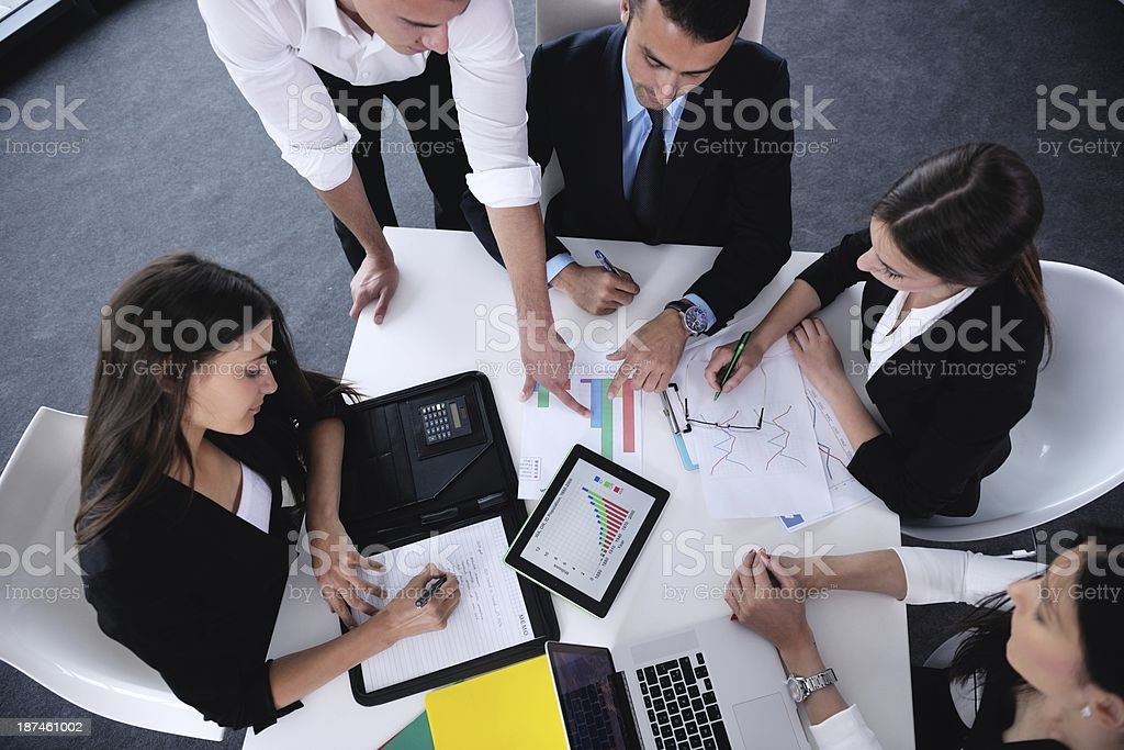 business people in a meeting at office - Royalty-free Adult Stock Photo