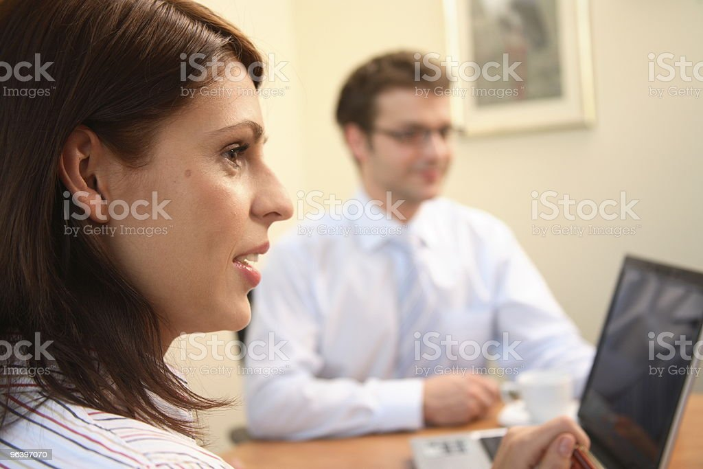 Business people in action. - Royalty-free Adult Stock Photo