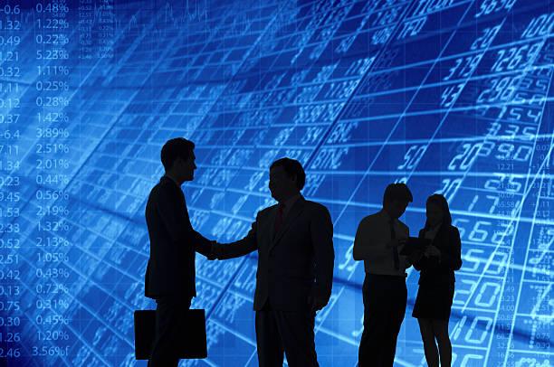 Business Persone che interagiscono tra loro. - foto stock