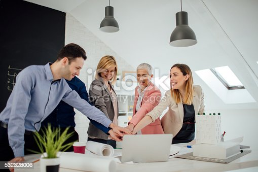 istock Business People Joining Hands. 532328006