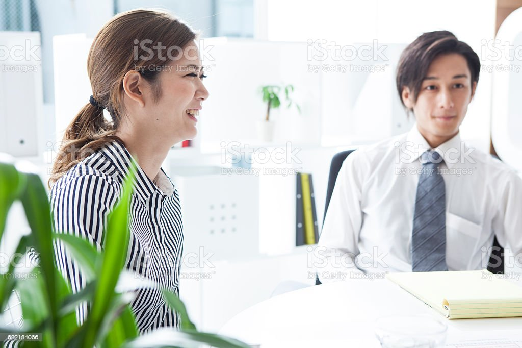Business People listening to their boss\'s opinions