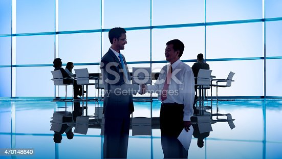 Business People Meeting Conference Seminar Sharing Strategy Concept