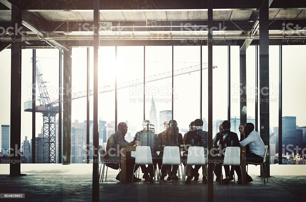 Business People Meeting Corporate Communication Teamwork Concept stock photo